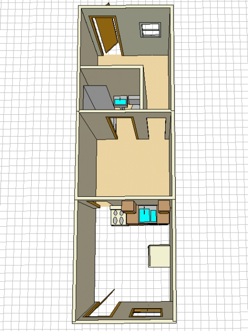 845rent Apartment Layout